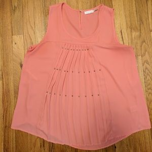 Tops - Large Salmon Tank Top